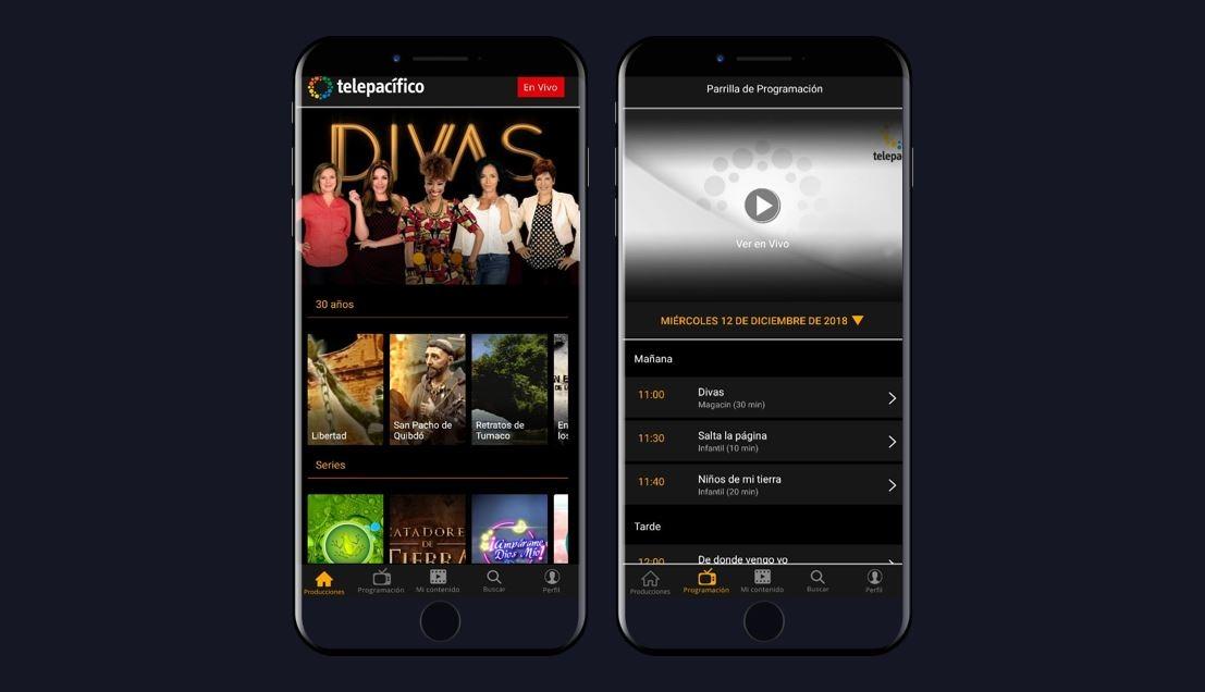 Telepacífico lanza su aplicación para dispositivos móviles