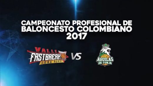 Fastbreak vs. Águilas de Tunja