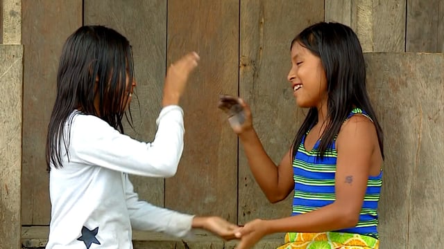 "Niños de mi tierra: ""Papachina, San Juan"""