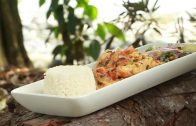 A cocinar: Juliana de pollo en salsa blanca