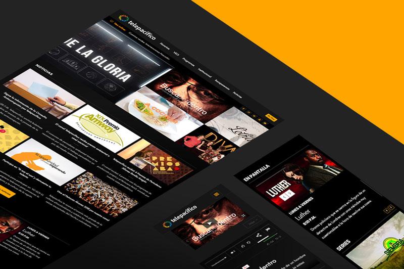 Telepacífico presenta su renovado sitio web en el marco de su ...