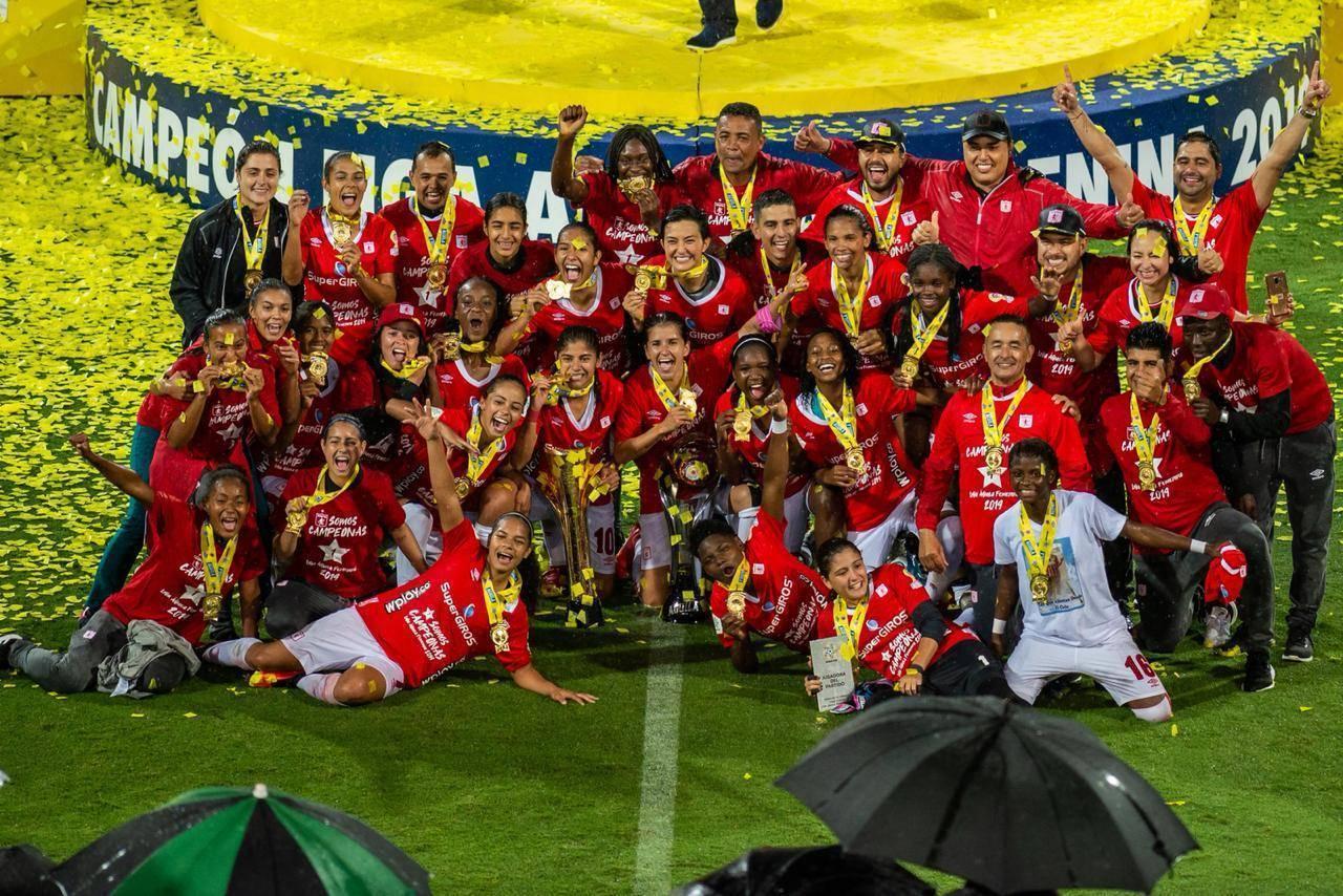 América de Cali se coronó campeón de la tercera Liga Femenina