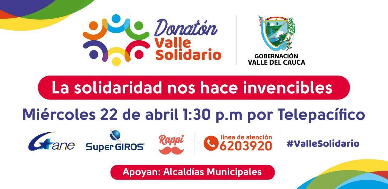Telepacífico te invita a participar en la gran Donatón por el Valle del Cauca