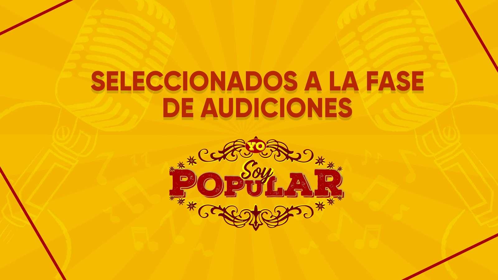 Conoce la lista de 81 participantes seleccionados en la segunda temporada de 'Yo Soy Popular'