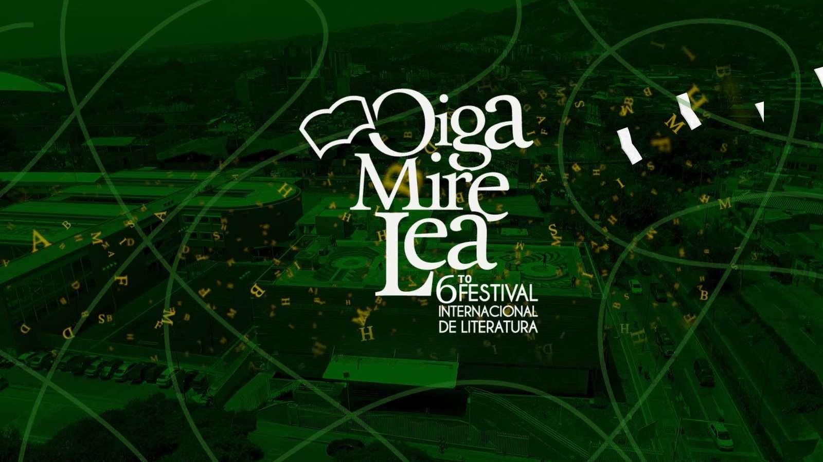 Telepacífico transmite el VI Festival Internacional de Literatura 'Oiga, Mire, Lea'