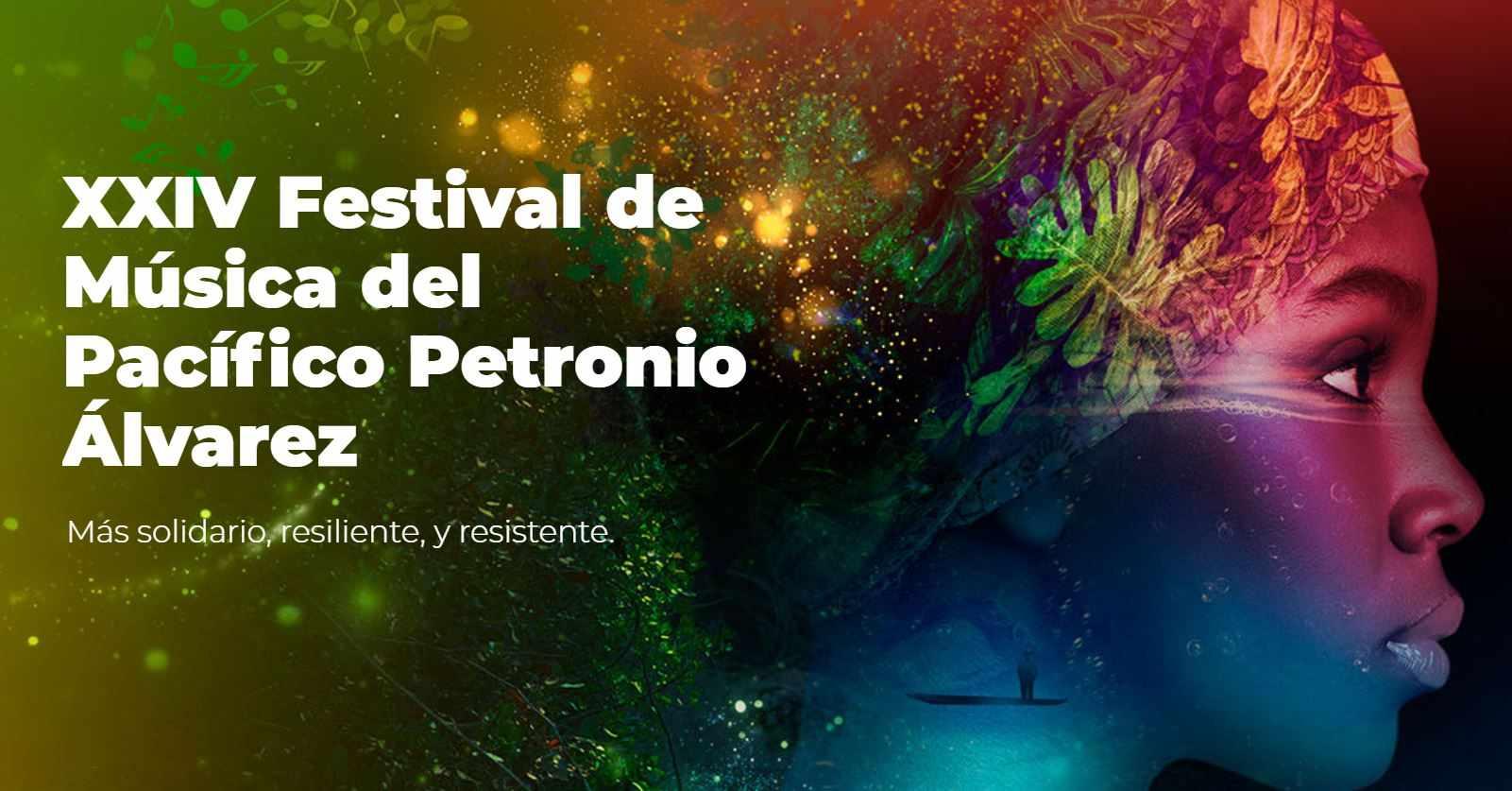 Programación de los conciertos virtuales del Festival Petronio Álvarez 2020