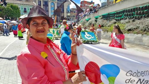 Carnaval de Negros y Blancos: Desfile de la Familia Castañeda